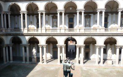 Le palais Brera