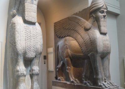 Taureaux ailés à têtes humaines - Nimrud, palais nord-ouest - v. 865-860
