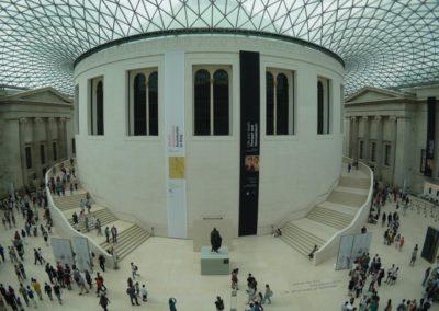 British Museum - Grande cour Elisabeth II - 6 août 2013