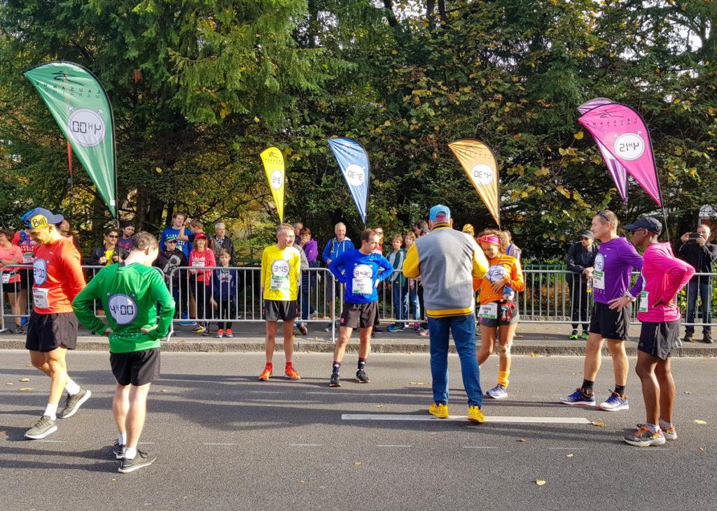 Marathon de Lausanne, meneurs d'allure