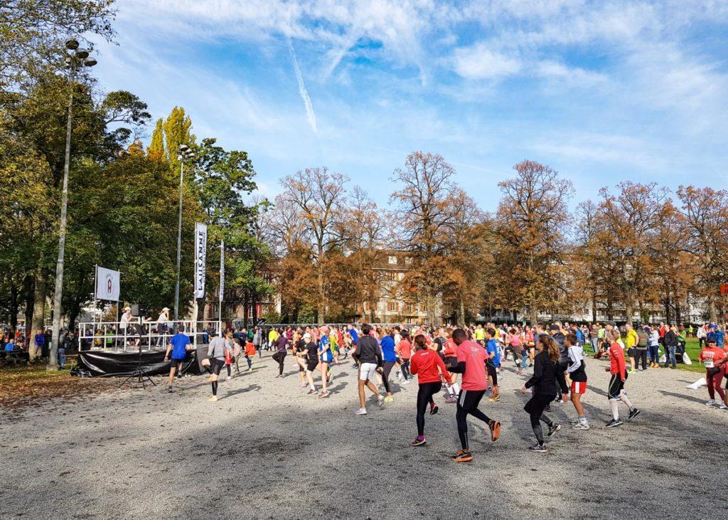 Marathon de Lausanne, départ