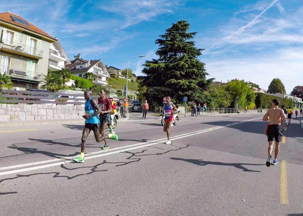 Marathon de Lausanne, les premiers