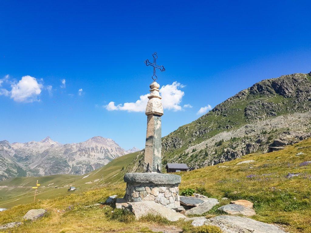 Au sommet du col de la Croix-de-Fer