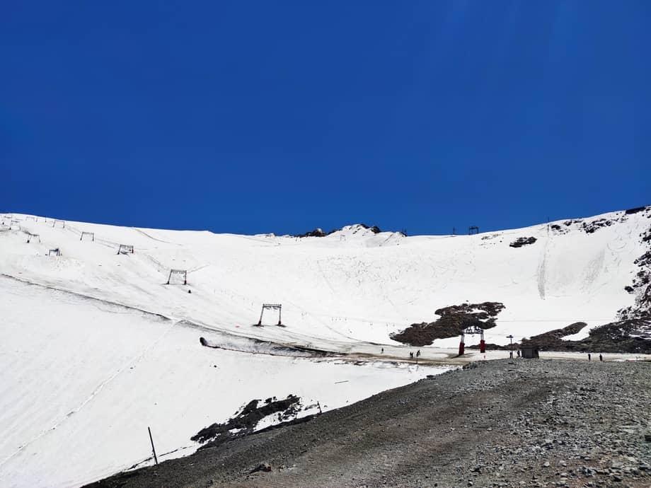 Le glacier de Mont-de-Lans