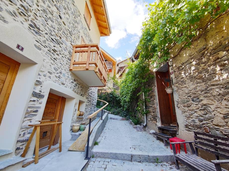 Le village de Vénosc