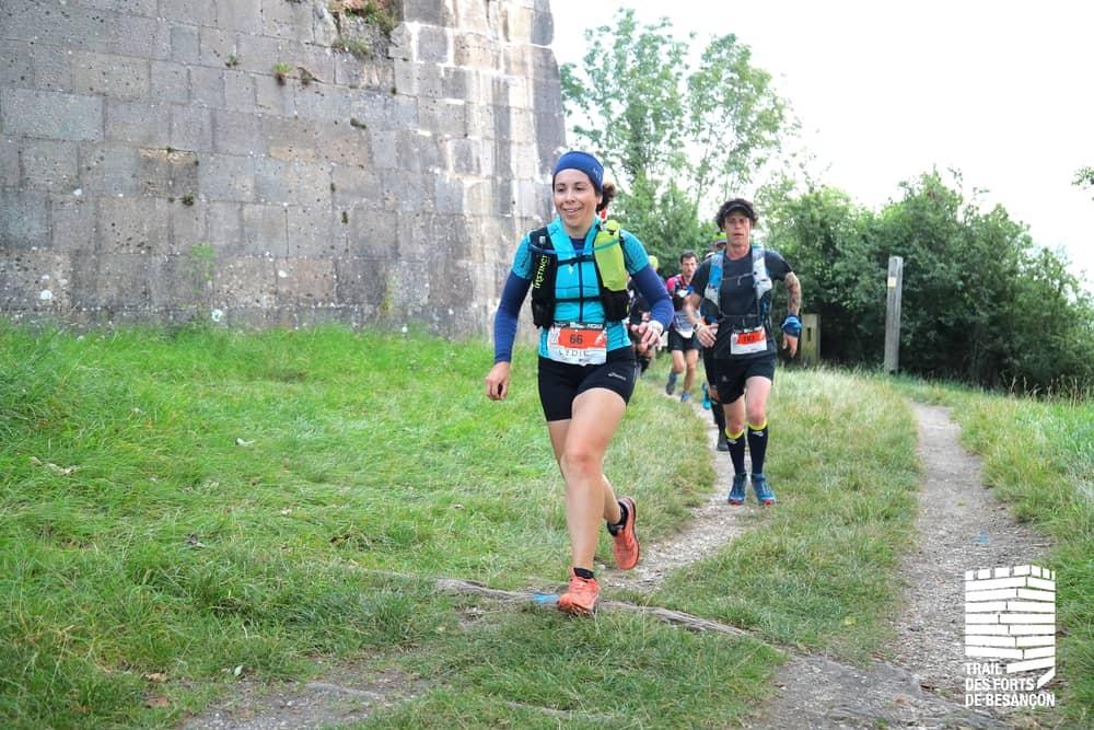 Trail des Forts, passage au fort de Bregille